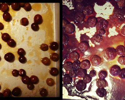 Roasted Grapes {Silent Sunday}