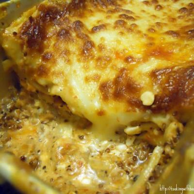 Quinoa Ragu Lasagna