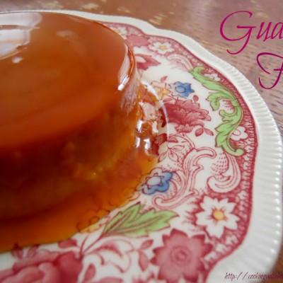 Farm Fresh Eggs: Guava Flan
