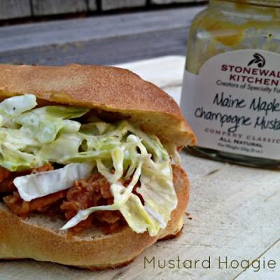 Mustard Hoagie Rolls