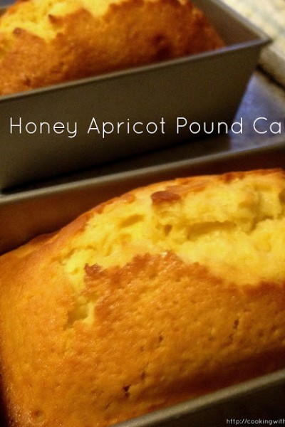 Honey Apricot Pound Cakes & Honey Ridge Farms Giveaway!