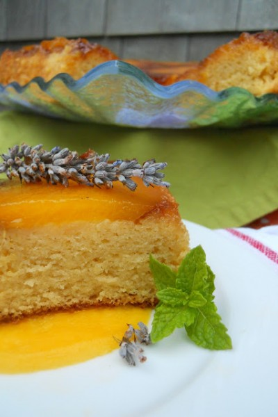 Sticky Mango Pudding Cake {Silent Sunday}