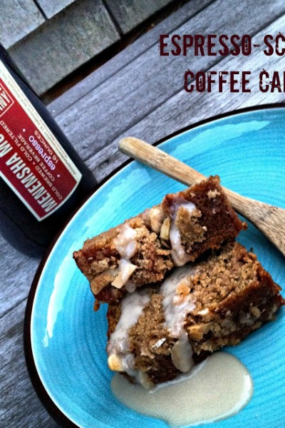 Espresso-Scented Coffee Cake & Giveaway!