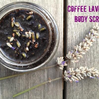 Coffee Lavender Body Scrub