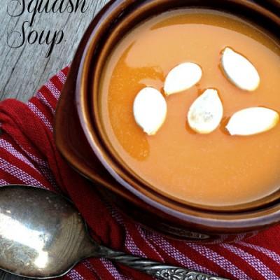 Laurent Gras' Butternut Squash Soup & Giveaway