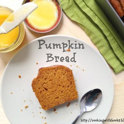 Pumpkin Bread for #tasiastable