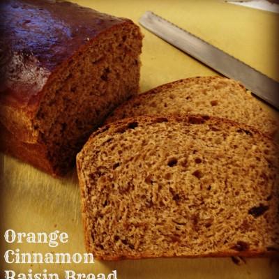 Orange Cinnamon Raisin Bread