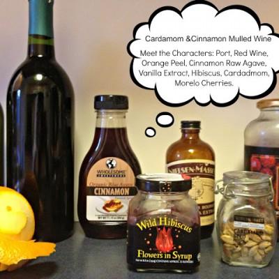 Cardamom & Cinnamon Mulled Wine