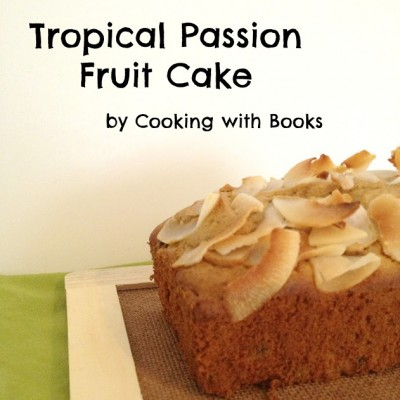 Tropical Passion Fruit Cake