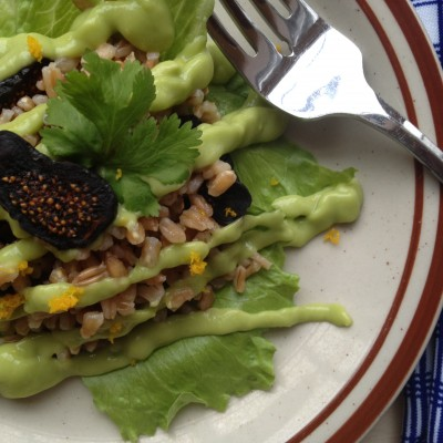 Farro & Avocado Salad