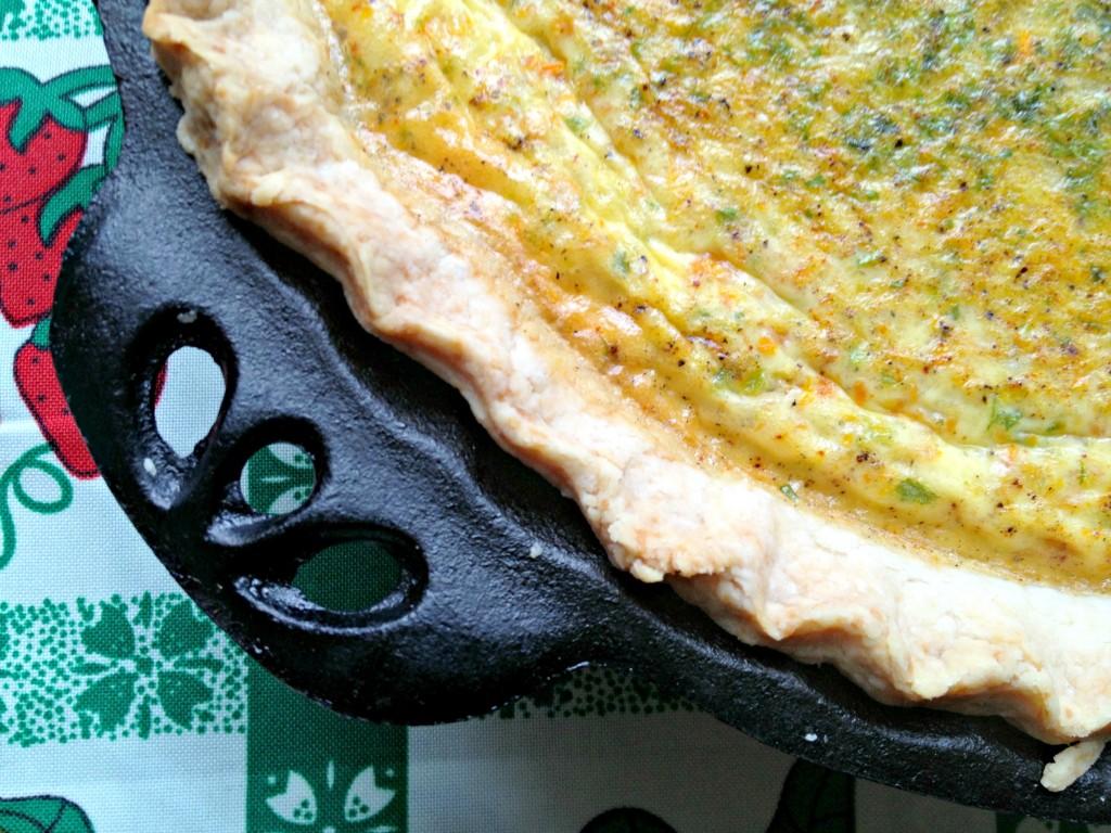 Carrot Savory Pie