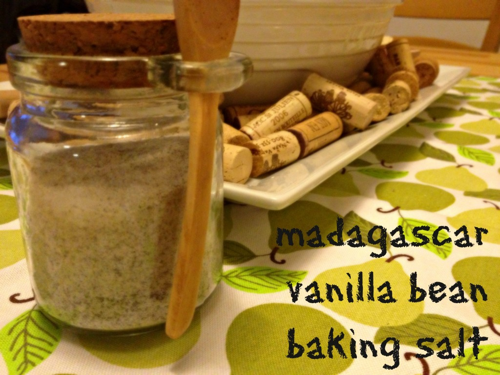 Madagascar Vanilla Bean Baking Salt