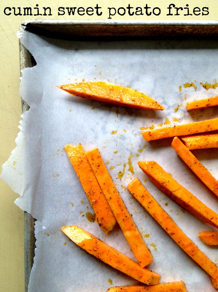 cumin sweet potato fries