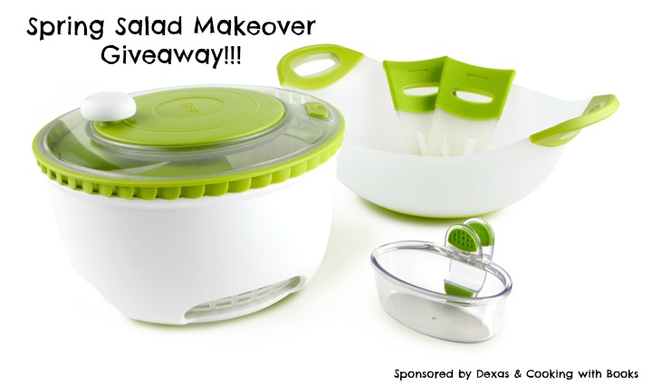 Spring Salad Makeover and Dexas Giveaway!