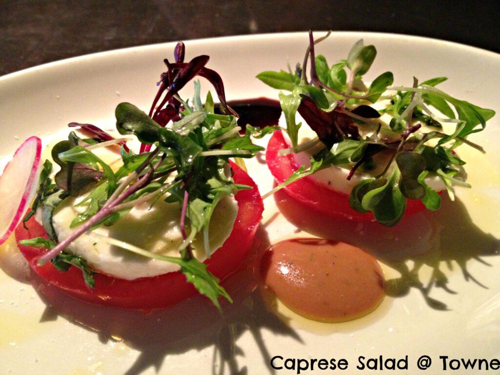 Caprese Salad at Towne