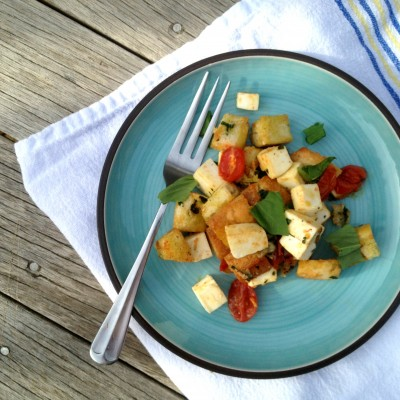 Panzanella Salad from Homemade with Love