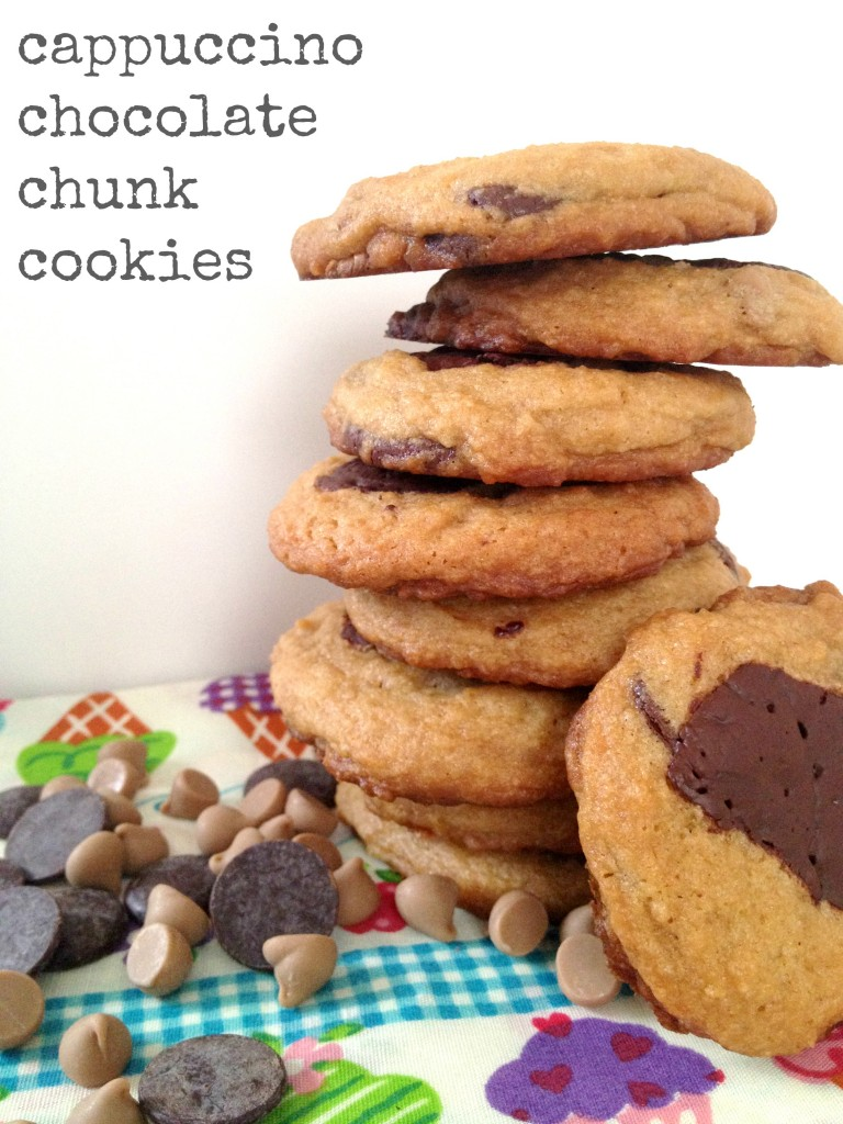 Cappuccino Chocolate Chunk Cookies by Cooking with Books