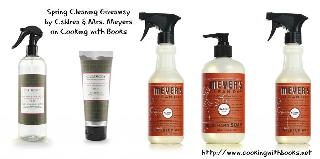 Caldrea and Mrs. Meyers Spring Cleaning Giveaway