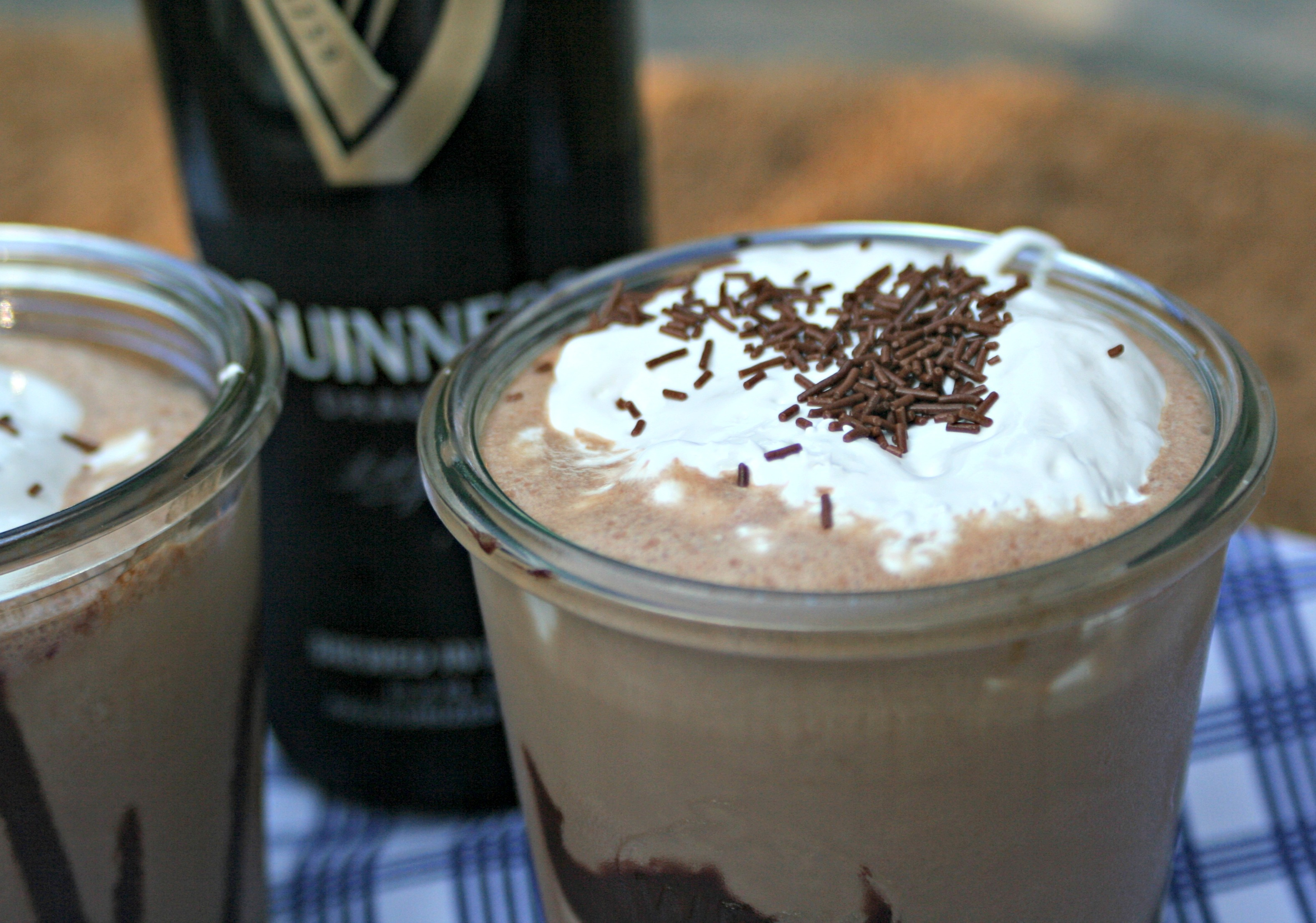 Guinness Chocolate Milkshake - Cooking with Books