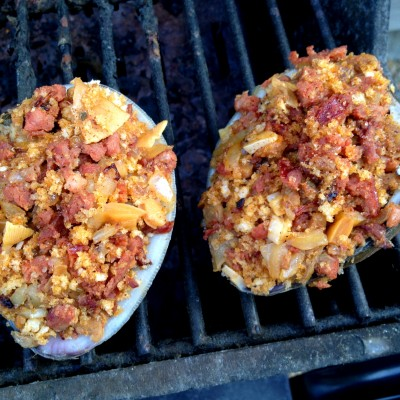 Grilling in the Northeast: Grilled Stuffed Quahogs