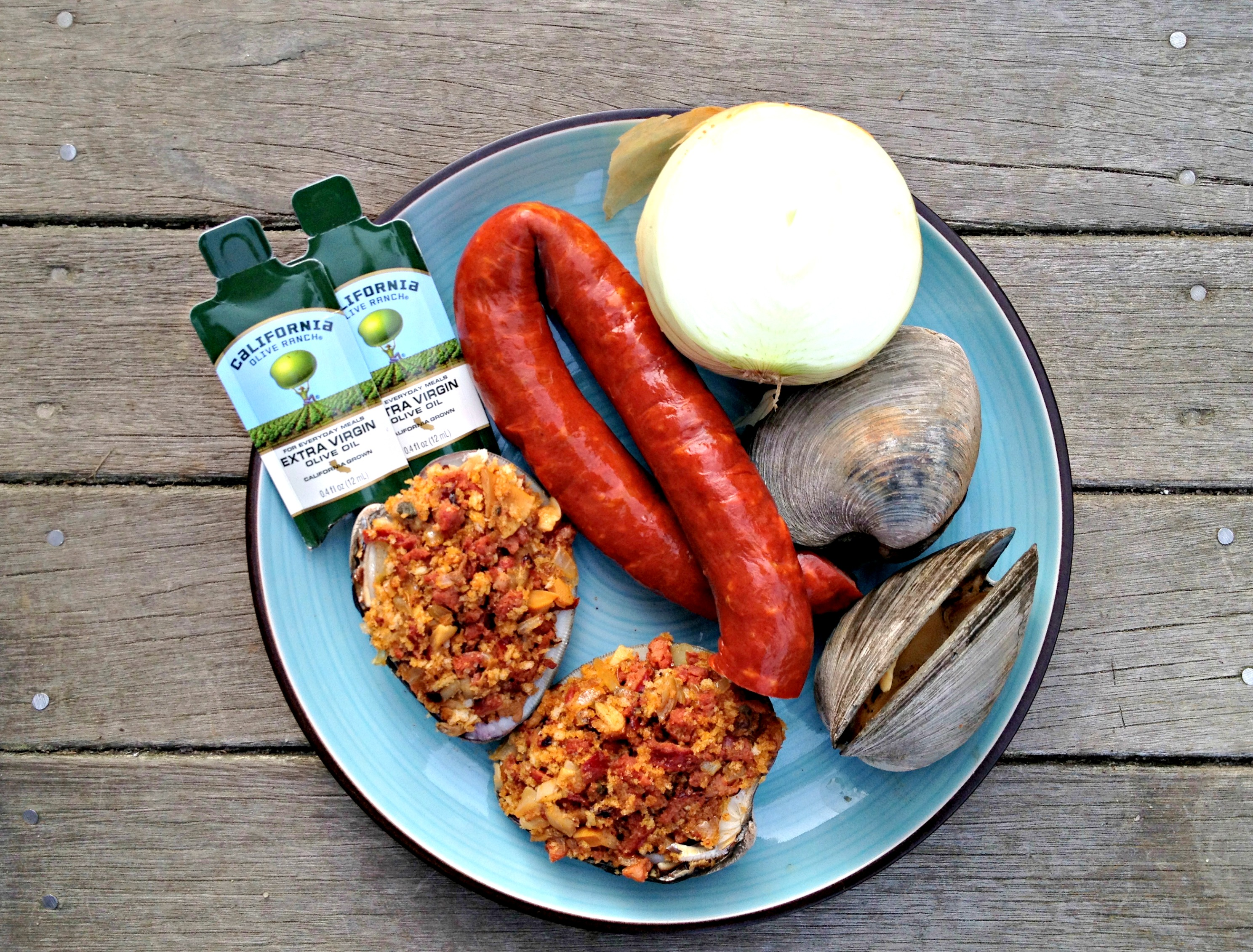... in the Northeast: Grilled Stuffed Quahogs - Cooking with Books