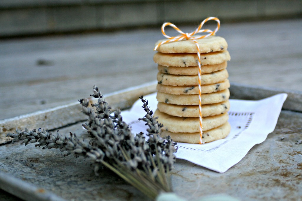 Lavender Shortbread Cookies by Cooking with Books3