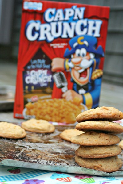 Cereal Sweets & Treats: Cap'n Crunch Cookies