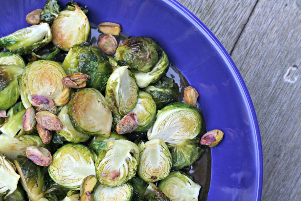 Roasted Brussels Sprouts with Butterscotch Sauce2