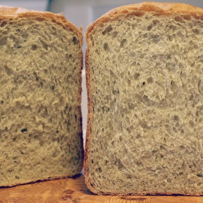 Italian 9-Grain Bread {Bread Machine Recipe}
