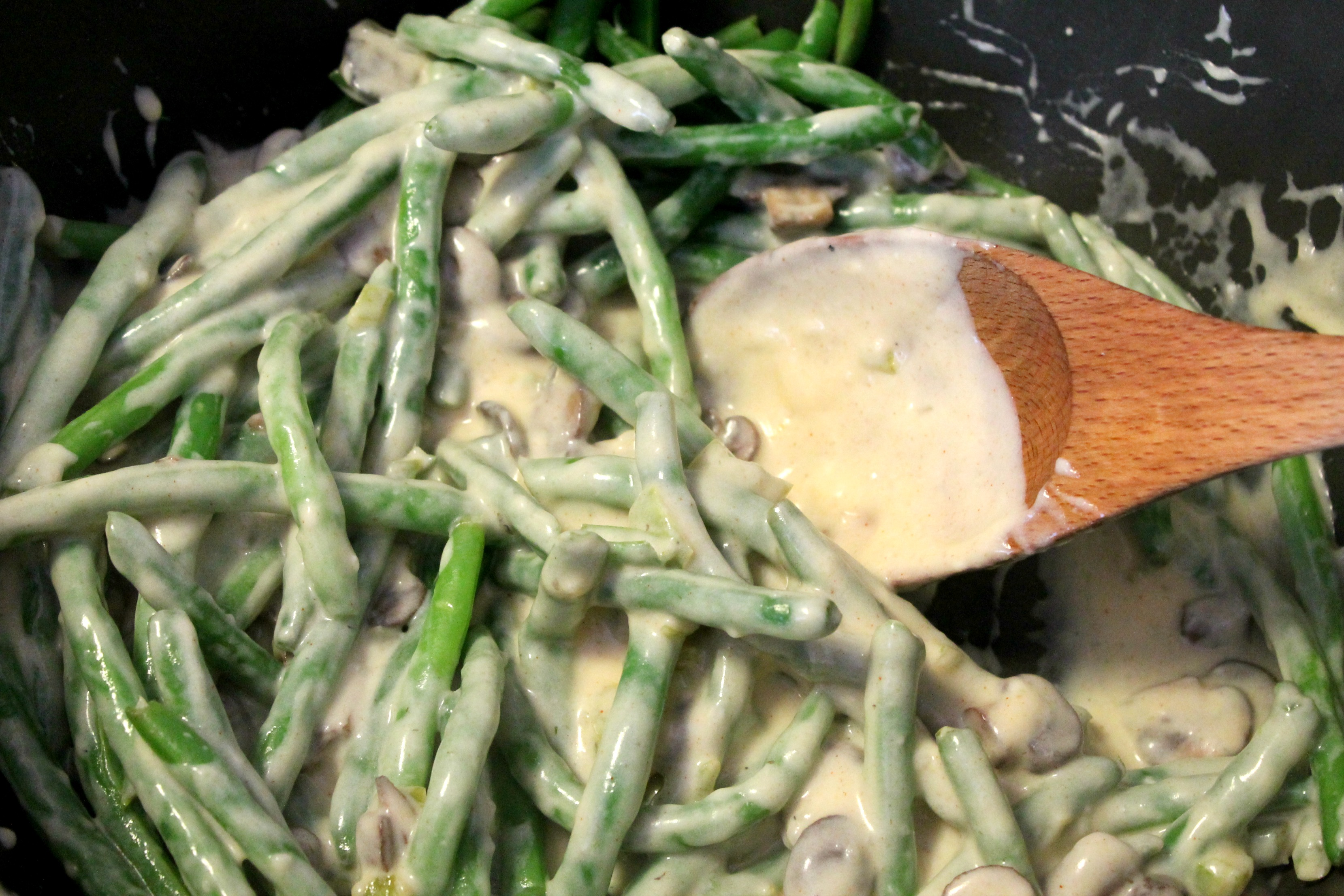 ... beans in a creamy green beans with creamy green bean and mushroom