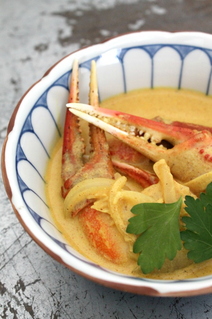 Crab Claws in Curry Sauce 4
