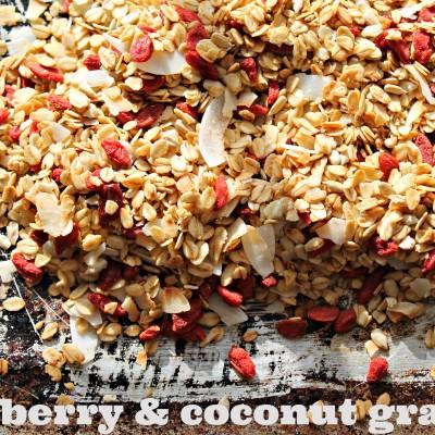 Goji Berry & Coconut Granola