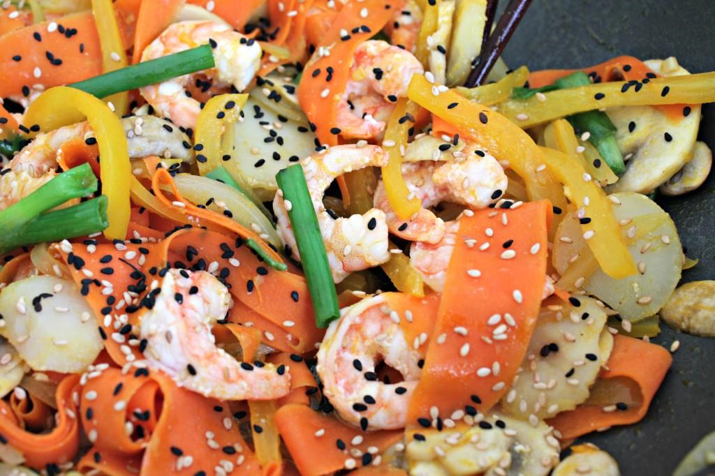 Orange Ginger Shrimp Stir-Fry 2
