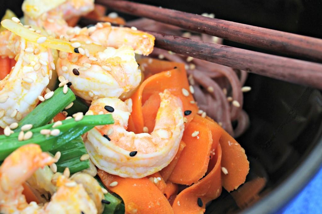 Orange Ginger Shrimp Stir-Fry 3