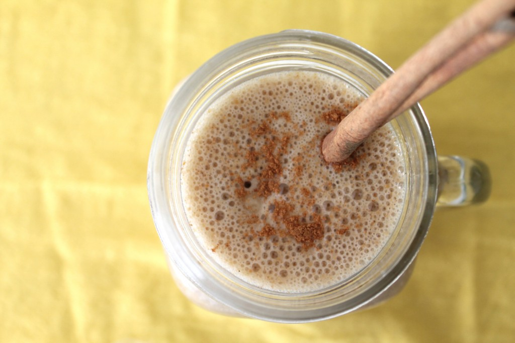 This Sunflower Butter & Vanilla Smoothie is packed with proteins that ...