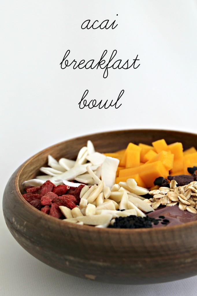 Acai Superfood Breakfast Bowl