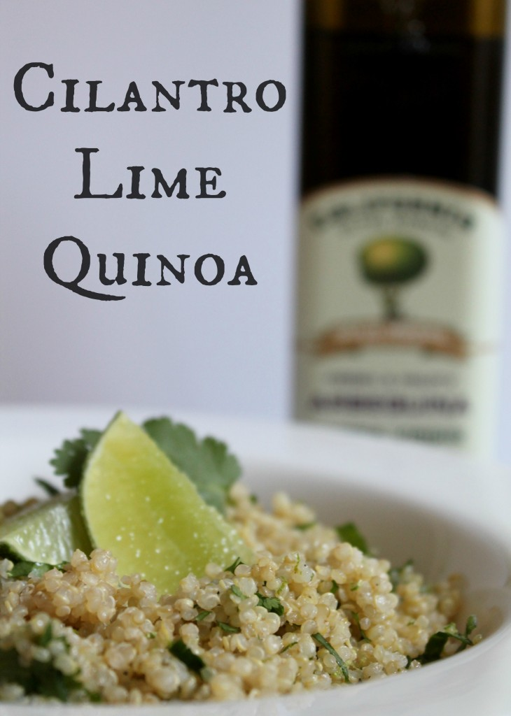 Cilantro Lime Quinoa recipe