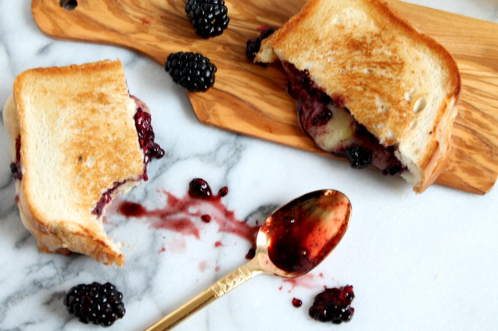 Blueberry Balsamic Grilled Cheese Sandwich7