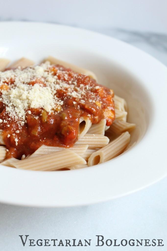Vegetarian Bolognese Sauce 01