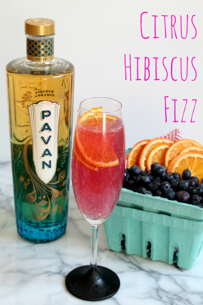 Citrus Hibiscus Fizz recipe