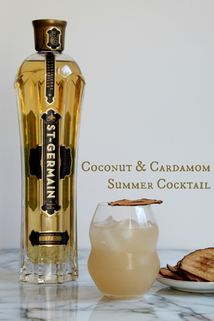 Coconut & Cardamom Summer Cocktail 01