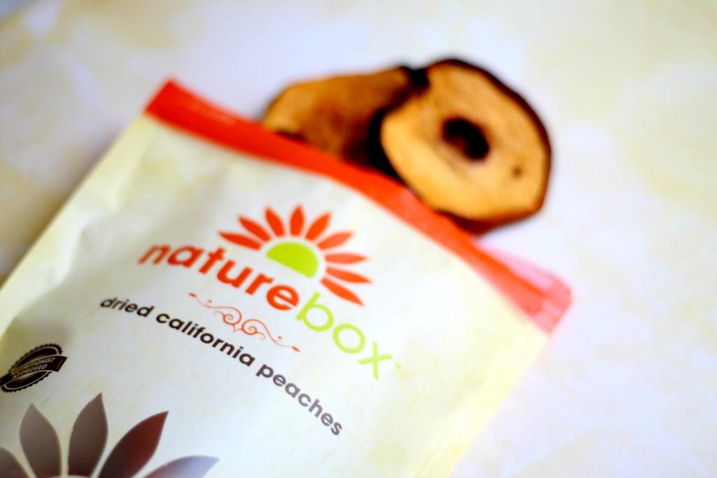 PopSugar and Nature Box - Peaches