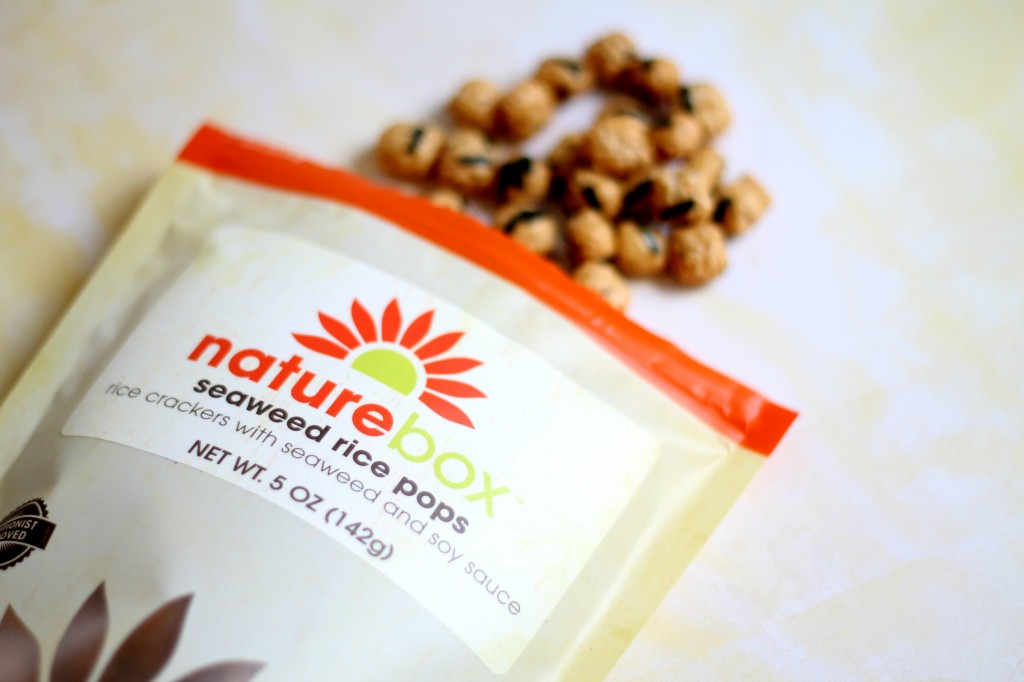 PopSugar and Nature Box - Seaweed Rice Pops