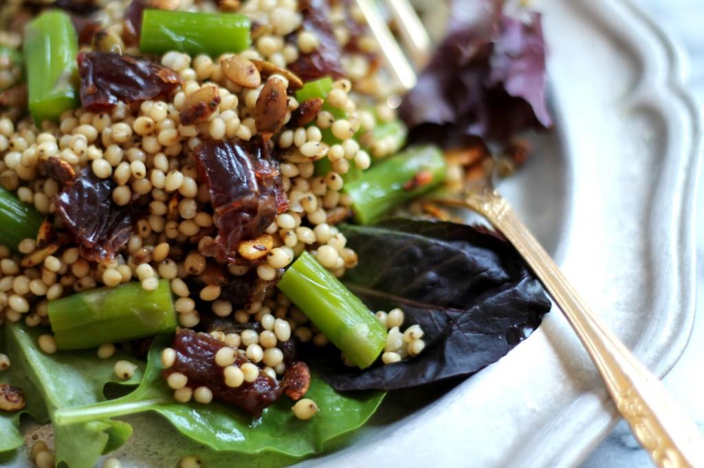 Sorghum Asparagus Salad 01