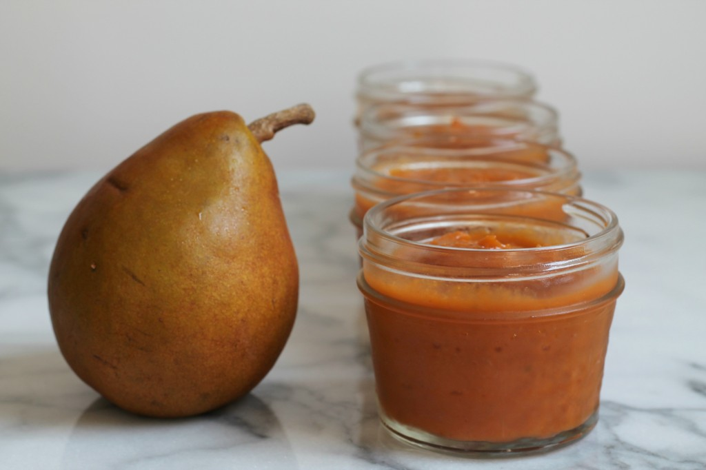 Spicy Grilled Pear Ketchup