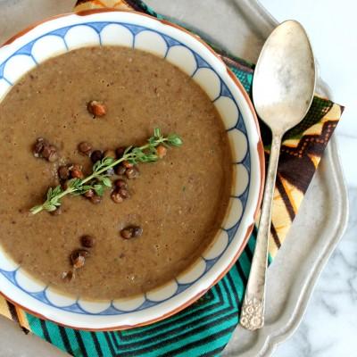 Lentil Thyme Soup