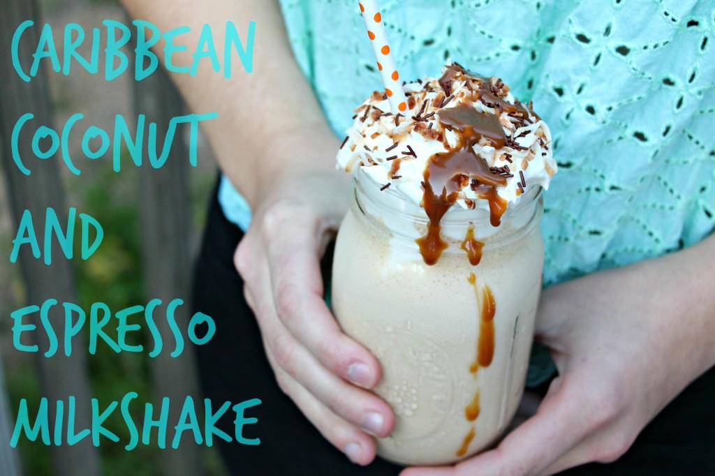 Caribbean Coconut and Espresso Milkshake 03