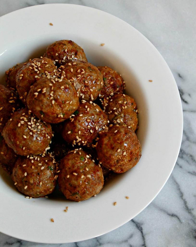 Tandoori Spiced Pork Meatballs