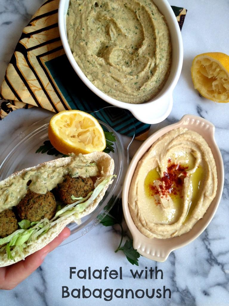 Falafel with Babaganoush 01
