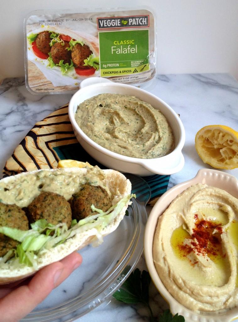 Falafel with Babaganoush 02